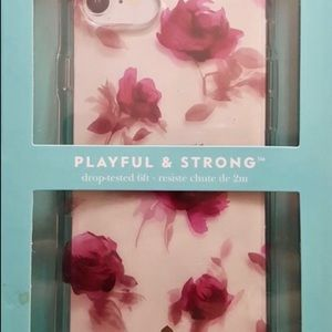 "Kate Spade "" Playful and Strong"" Iphone Case"